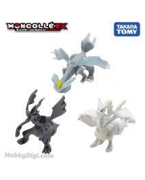 Takara Tomy Pokemon Moncolle EX Figure - 最強對戰套裝 Vol. 3