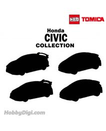 Tomica 套裝合金車 - Civic 4 Car Set Special (Asia Exclusive)