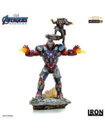Iron Studios BDS Art Scale 1/10 模型 - Iron Patriot & Rocket (Avengers: Endgame)