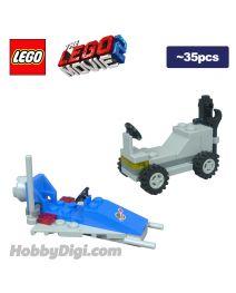 LEGO 散裝淨機 the LEGO Movie 2: Spaceship Toy and Lunar Buggy