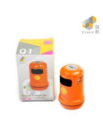 Tiny 微影 1:18 配件 - 橙色垃圾筒連水樽及烏龍茶樽