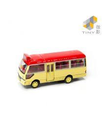 Tiny City 合金車 08 - Toyota Coaster 紅色小巴 (官塘)