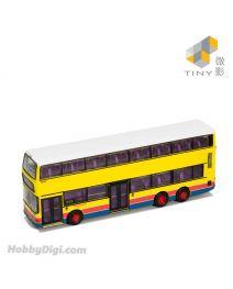 Tiny 微影 City 1:110 合金車仔 L09 - 丹尼士三叉戟 - 都普 巴士 黃色 (E22)