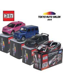 Tomica 東京Auto Salon 合金車 - Tokyo Auto Salon 2019 一套四架