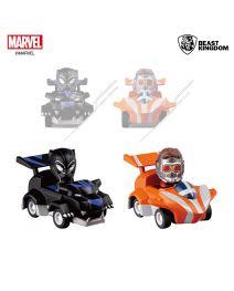 Beast Kingdom Marvel 復仇者聯盟:終局之戰系列 迴力車 - 星爵&黑豹套裝 (十週年紀念款)