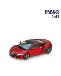 EBBRO 1:43 合金模型車 - Honda NSX 2016 Valencia Red Pearl