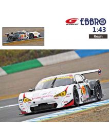 EBBRO Super GT 2017 1:43 樹脂模型車 - ARTO Toyota 86 MC 101 SUPER GT GT300 2017