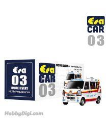 Era Car 1:64 合金車 03 - Suzuki Every 長洲救護車