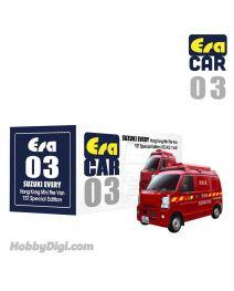 Era Car 1:64 合金車 03 - Suzuki Every 長洲消防車 (初回特別版)