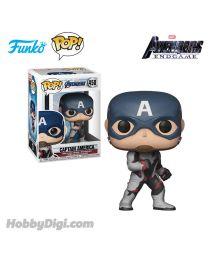 Funko Pop! Marvel系列:Avengers 4 - Captain America (Team Suit)