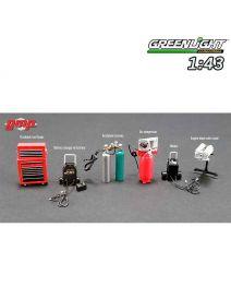Greenlight 1:43 配件 - GMP Shop Tool Set 1