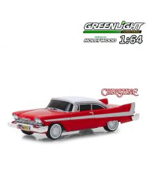 Greenlight 1:64 合金車 - 1958 Plymouth Fury (Evil Version) Christine (Hollywood S24)