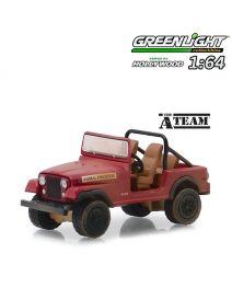 Greenlight 1:64 合金車 - Jeep CJ-7 The A-Team (Hollywood S24)