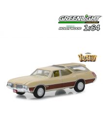 Greenlight 1:64 合金車 - 1970 Oldsmobile Vista Cruiser National Lampoon's Vacation (Hollywood S24)