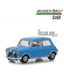Greenlight 1:43 合金車 - The Italian Job (1969) - 1967 Austin Mini Cooper S 1275 MkI - Blue with Black Leather Straps