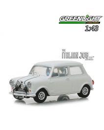 Greenlight 1:43 合金車 - The Italian Job (1969) - 1967 Austin Mini Cooper S 1275 MkI - White with Black Leather Straps