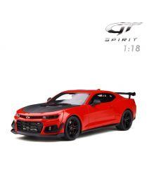 GT SPIRIT 1:18 樹脂模型車 - Chevrolet Camaro ZL1 1LE Red Hot