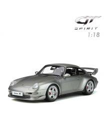 GT SPIRIT 1:18 樹脂模型車 - Porsche 911 Carrera RS Club Sport Arctic Silver