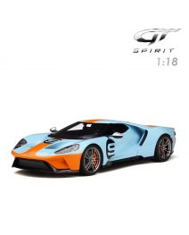 GT SPIRIT 1:18 樹脂模型車 - Ford GT Gulf #9