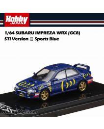 Hobby JAPAN 合金車 - 1/64 SUBARU IMPREZA WRX (GC8) STi Version Ⅱ Sports Blue