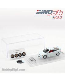 INNO64 1:64 合金模型車 - Honda Integra Type-R DC5 White