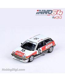 INNO64 1:64 合金模型車 - Honda Civic Si E-AT Gr.A #16 Mugen Motul JTC 1987