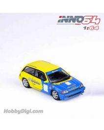 INNO64 1:64 合金模型車 - HONDA CIVIC Si E-AT Gr.A Tuned by SPOON SPORTS 1985