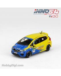 INNO64 1:64 合金模型車 - Honda Fit 3 RS GK5 #95 Team Spoon Sports Super Taikyu 2015