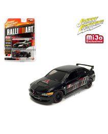 Johnny Lightning 1:64 MiJo Exclusives 合金車 - Import Heat - RalliArt 2004 Mitsubishi Lancer Evolution (Black)