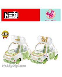 Tomica Disney Motors系列 日本限定合金車 - Jewelryway Ribonette Mickey and Minnie Botanical Party 一套兩架