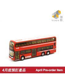 Tiny 微影 City 合金車 99 - 九巴 Enviro500 紅色 287X