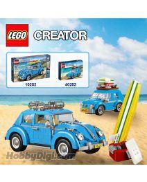 LEGO Creator 10252 40252: Volkswagen Beetle 套裝