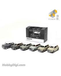 Tiny 城市 合金車仔 - Mini Cooper X Pantone Set (Grey)