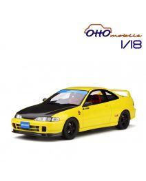 OttO Mobile 1:18 樹脂模型車 - Honda Integra (DC2) Spoon Sunlight Yellow