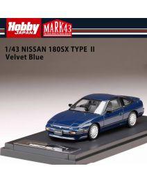 Hobby JAPAN MARK43 1:43 樹脂模型車 - Nissan 180SX Type II Velvet Blue