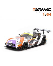 Tarmac Works HOBBY64 模型車 - Mercedes-AMG GT3 FIA GT World Cup 2018 3rd Place