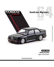 Tarmac Works ROAD64 1:64 合金模型車 - BMW M3 E30 Sport Evolution