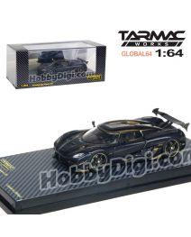 Tarmac Works GLOBAL64 香港限定版合金模型車 - Koenigsegg Agera RS Naraya - Carbon Edition