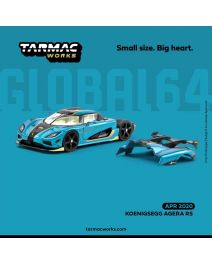 Tarmac Works GLOBAL64 1:64 合金模型車 - Koenigsegg Agera RS (One Chase Car included per each carton)