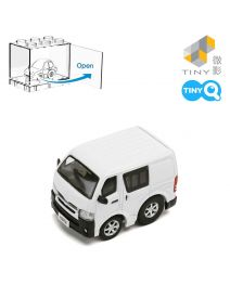 Tiny Q 合金回力車 Pro-Series 03 - Toyota Hiace White