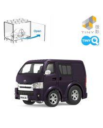 Tiny Q 合金回力車 Pro-Series 03 - Toyota Hiace 金屬紫