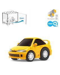 Tiny Q 合金回力車 Pro-Series 06 - Honda Integra DC2 黃色