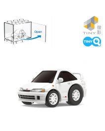 Tiny Q 合金回力車 本田 Integra DC2 (白色)