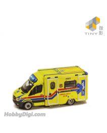 Tiny 微影 展會限定合金車 - MB Sprinter Ambulance A503