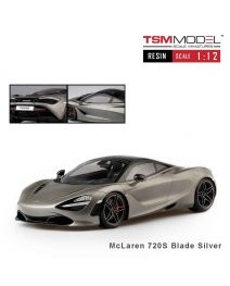 TSM Model 1:12 樹脂模型車 - McLaren 720S Blade Silver