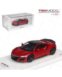 TSM Model 1:43 合金模型車 - Honda NSX Valencia Red Pearl w Modulo Wheel