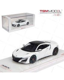TSM Model 1:43 合金模型車 - Honda NSX 130R White w Modulo Wheel