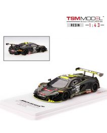 TSM Model 1:43 樹脂模型車 - McLaren 650S GT3 No42 2017 Spa 24 Hrs