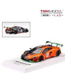 TSM Model 1:43 樹脂模型車 - McLaren 650S GT3 No58 2017 Spa 24 Hrs