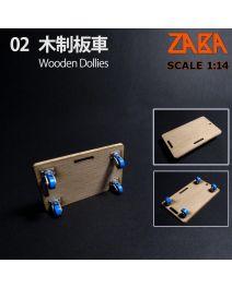 Zaba 1:14 -  木製板車